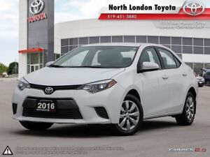 2016 Toyota Corolla LE Fuel efficient, open cabin space, and...
