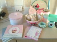 Kitchen accessories bundle shabby chic