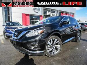 2016 Nissan Murano PLAT, SUNROOF, HEATED SEATS, LEATHER, ALLOY R