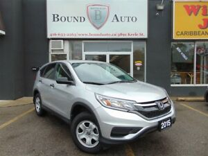 2015 Honda CR-V LX-AWD,B-UP CAM,B-TOOTH,H-SEATS,C-CONTROL,NO ACC