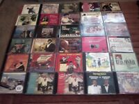 CDs..over a hundred..all tastes.country...easy..pop..hits..scottish..etc etc..
