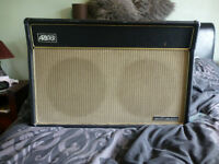 VINTAGE 1970's ARBITER SOUNDHOUSE 50/100 CAB & SPEAKERS NO AMP SEE PICTURES