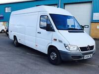 MERCEDES-BENZ SPRINTER 313 CDI 'LWB HI-ROOF' (2006 - 06 REG) '2.2 CDI - 130 BHP' (NO VAT - SAVE 20%)
