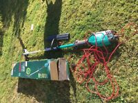 Bosch Multi Tool with pole hedge cutter attachment