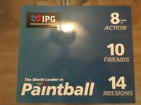IPG 10 Paintball Tickets + 1,000 balls, equipment and guns for 8 hours. £300 value for sale at £200