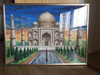 Taj Mahal frame