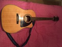 acoustic guitar Epiphone AJ-220SCE brand new or swap with men mountain bike or drone