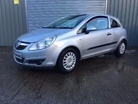 2007 VAUXHALL CORSA 1.0 LIFE **FULL YRS MOT** similar to fiesta golf focus civic 308 clio punto jazz