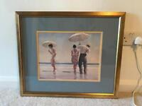 Gilt framed Vetriano print