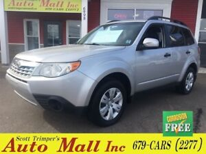 2011 Subaru Forester X Convenience/Only 57, 000 km's