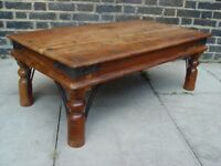 FREE DELIVERY Retro Indian Table Vintage Furniture