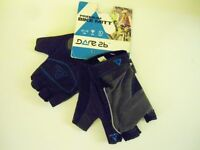 Unisex Dare2b Blue & Black Cycling Mitts. Size: Small