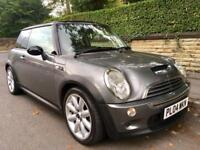 2004 Mini Cooper S Low Miles Pan Roof Leather.