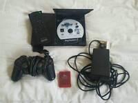 Sony PS2 slim model (needs AV lead).