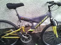 CONCEPT ,MENS OR LADIES,MOUNTAIN BIKE,18 INCH FRAME,26 INCH WHEELS,28 GEARS,GOOD TYRES.