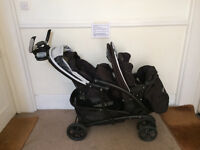 Graco Quattro Tour Duo pushchair, like new, too big for hallway, new price on Amazon £265.00