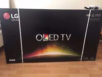 "Brand new in box 55"" lg smart tv"