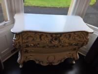 Stunning white sideboard / dresser / hall unit / console table