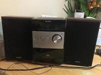 SONY CD player and DAB radio