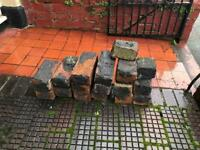 Small stack of bricks - free to collector