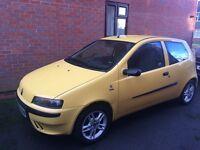 2003 Fiat Punto active sport 1.2 - spares or repairs