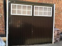 garage door, brand new