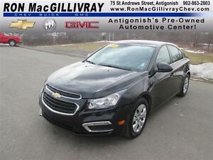2015 Chevrolet Cruze 1LT ,.. Low kms, Certified!