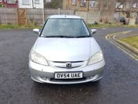 2005 Honda Civic 1.3 IMA Executive 4dr Clutch Finish Does Not Drive @07445775115