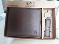Wallet & keyring set.