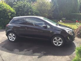 Black Vauxhall Corsa 1.2 SXI Full Service History, Low Miles, 3Dr, Great 1st Car
