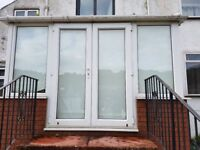 Conservatory uPVC Double-Glazed 3.6 x 3.7M (outside). Excellent condition. Includes all Finishings