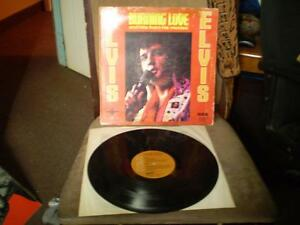 vinyl Elvis album/burning Love de1967 en 33 tour