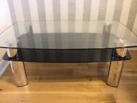 Harveys Tempered Glass Coffee Table - NEW CONDITION!!