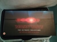 Classic Knight Rider - The Ultimate Collection. Complete Series 1-4 on 26 Discs