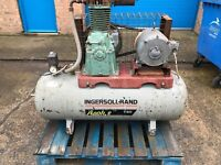 Ingersoll rand air compressor, 3 phase, ready to go