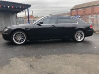 BMW7 serious 5 L petrol MOT low mileage only 82,000 on the clock good condition