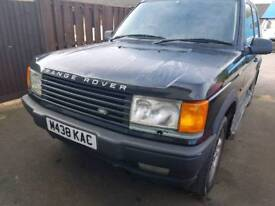 Range Rover HSE special vehicle 4.6 with LPG