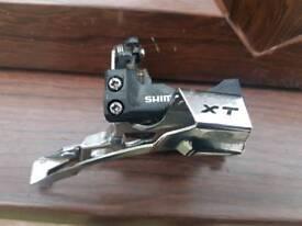 3 speed Shimano xt deore derailleur
