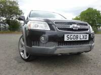 08 CHEVROLET CAPTIVA LT 5S VCDI 2.0 DIESEL 4X4,MOT JAN 019,2 OWNERS,PART HISTORY,LOVELY EXAMPLE JEEP