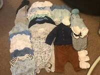 Boys newborn + up to 1 month