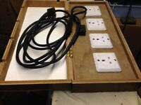 4 Channel Lighting Patch Panel box
