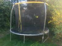 sportspower 12ft trampoline good condition