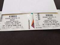 x 2 tickets for Brighton Boundary Festival 2016
