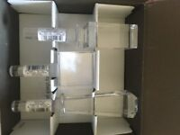 Vera Wang Boxed Set Crystal Bottle Stoppers