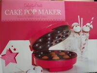 Cake pop maker only used once.