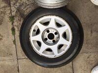 Genuine ford Capri 2.8i alloy wheels X 2