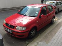 VW Polo petrol 1.0 5dr 2001