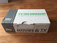 Sky TV on demand wireless box