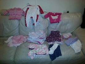 3 - 6 months baby girl clothes