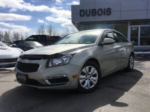 2015 Chevrolet Cruze LT 1LT TURBO + EXCELLENTE CONDITION